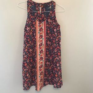 As U Wish Floral Slip Dress